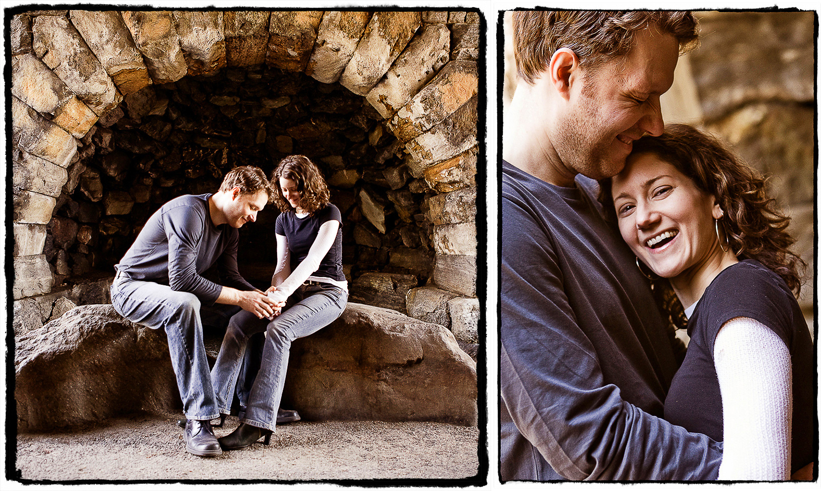 Engagement Portraits: Rachel & Pierre enjoy an afternoon in Central Park.