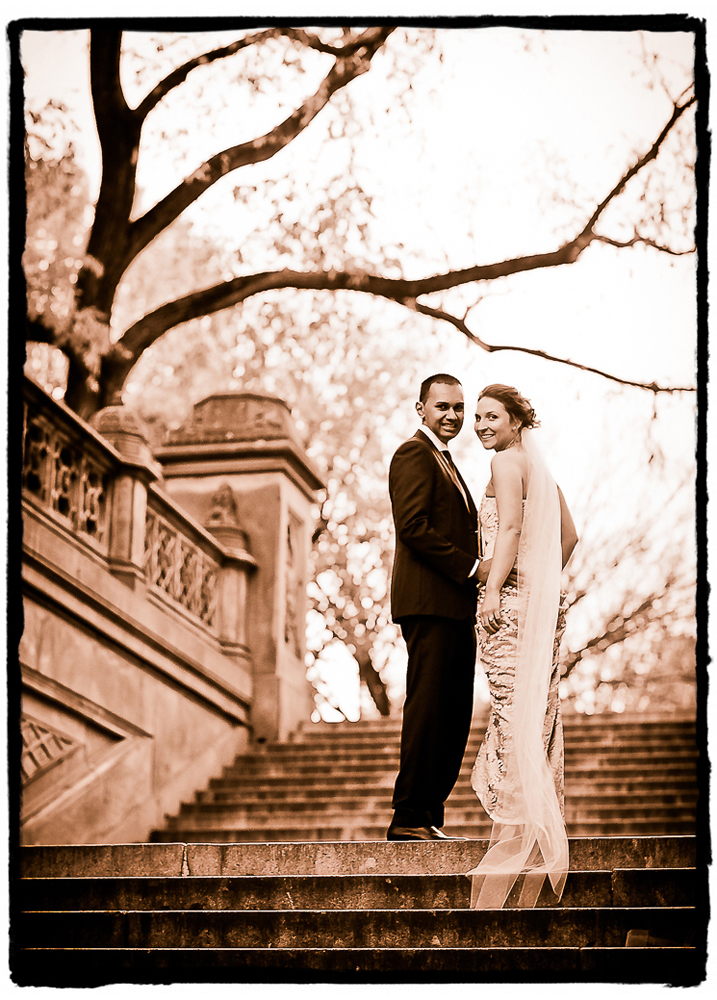 This Australian couple eloped in NYC with an intimate ceremony in Central Park.