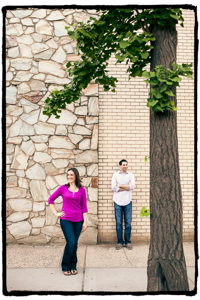 Engagement Portraits: Johanna & Greg in Long Island City.
