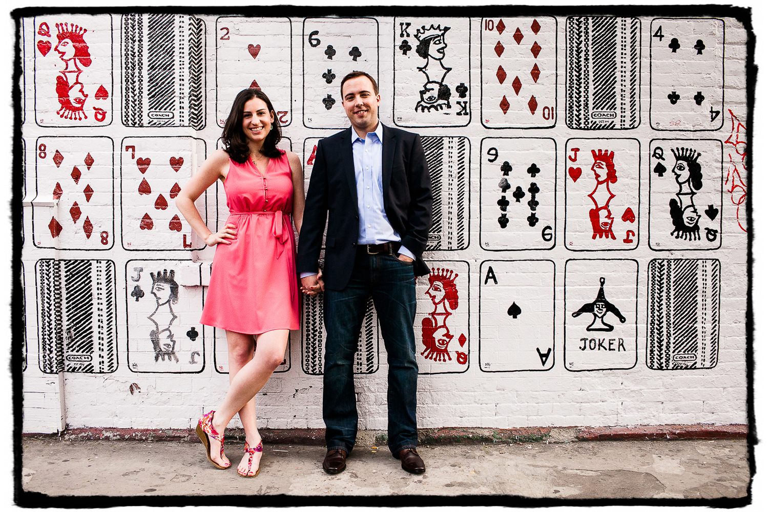 Engagement Portraits: Marisa & Nolan in the West Village.
