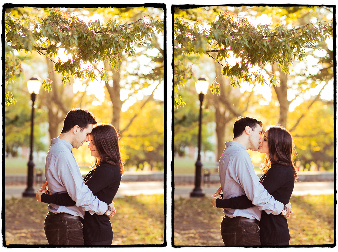 Engagement Portraits: Emily & Adam in Fort Greene park.