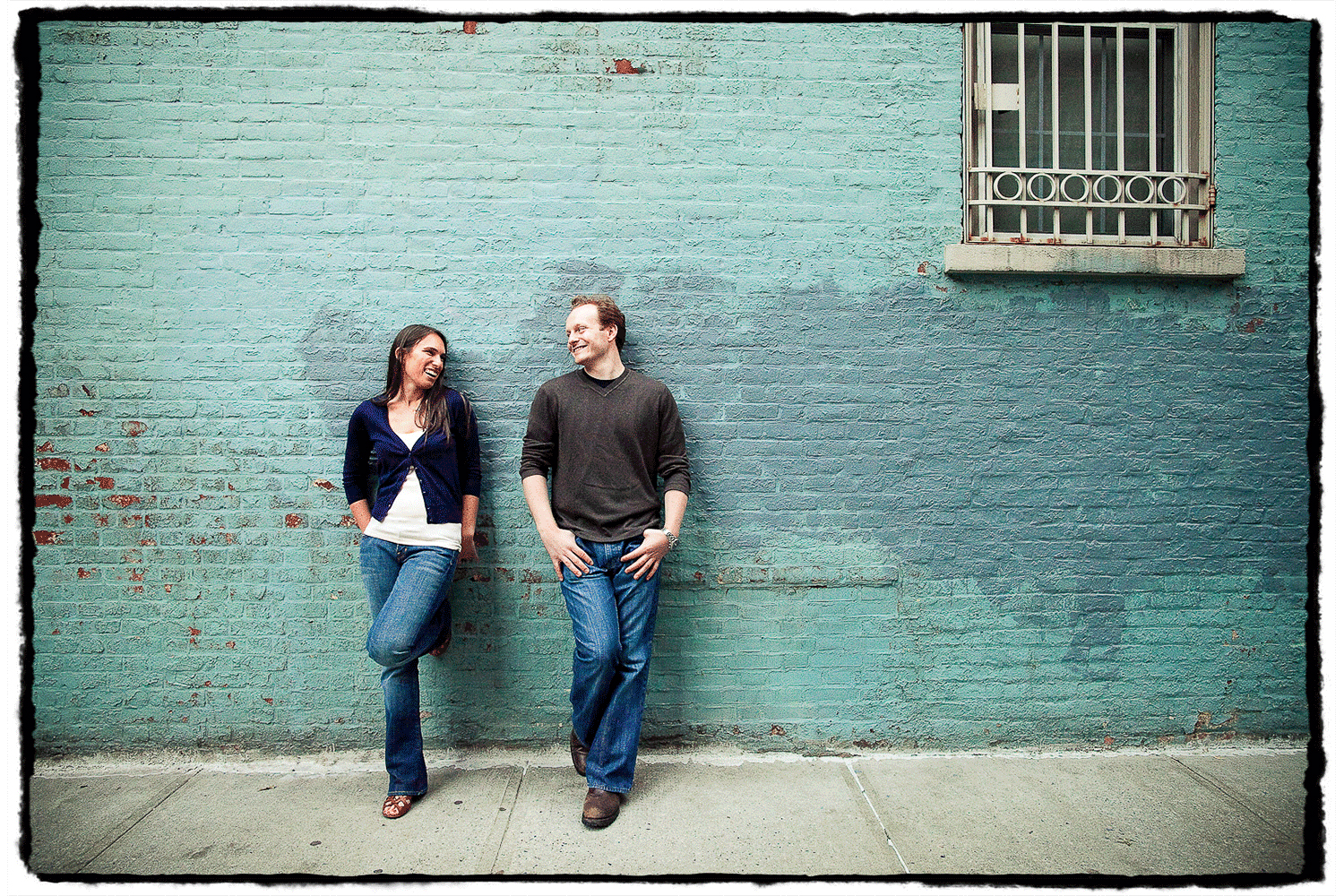 Engagement Portraits: Alex & Michelle in the West Village.